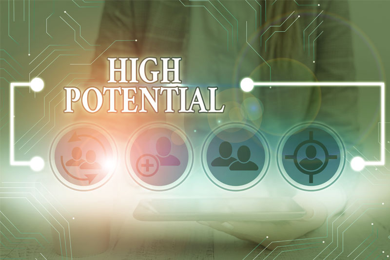 "Blog Is ""high potential"" the corporate version of being nice?"