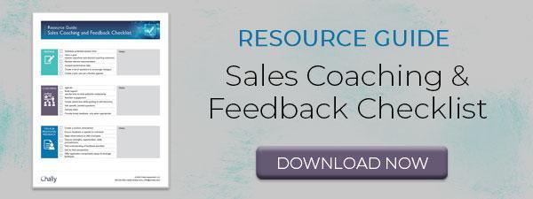 Sales Coaching Checklist
