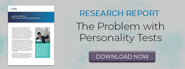 Download Problem with Personality Tests